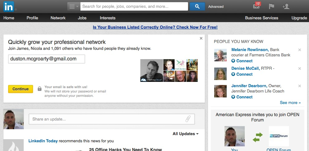 Linkedin for Free Traffic