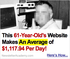 This 61-Year-Old's Website Averages $1,117.94 Per Day!