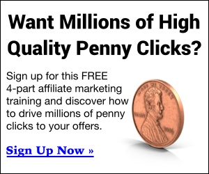 Millions of Penny Clicks [300×250 Regular]